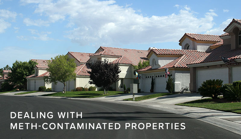 image of How to deal with meth contaminated properties