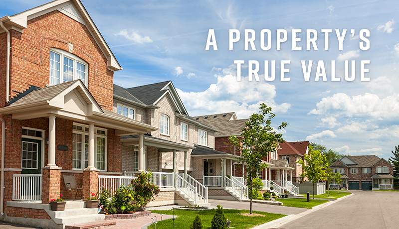 image of Establishing a property's true value