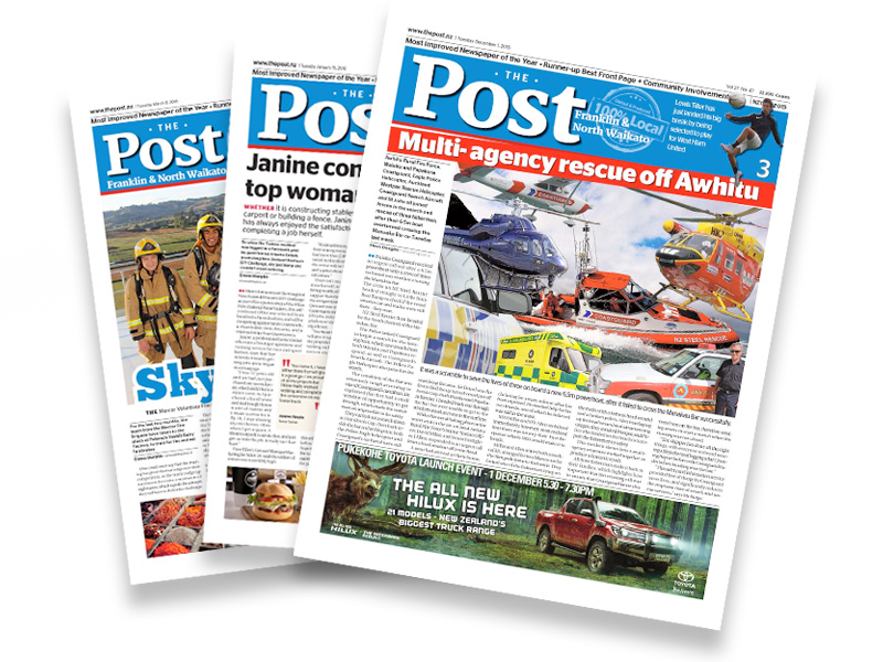 image of Waiuku Post Editorial